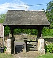 St Nicholas' Church, Peper Harow Park, Peper Harow (May 2014) (Lychgate 2).JPG