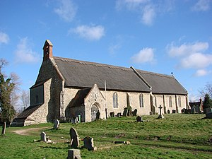 Westleton - St Peter's church