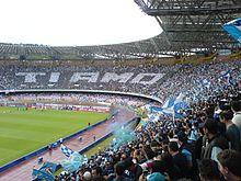 Lo stadio San Paolo ospita le partite interne del Napoli dal 1959.