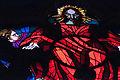 Stained-glass pattern, Saint Vitus Cathedral. Prague, Czech Republic, Western Europe. Jaunuary 8, 2014-2.jpg