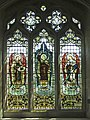 Stained Glass Window, St John the Baptist, Finchingfield, Essex - geograph.org.uk - 661793.jpg