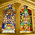 Stained glass windows in Crypt, Guildhall, City of London (9).jpg