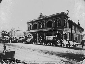 Queensland Ambulance Service - Image: State Lib Qld 1 128107 Queensland Ambulance and Transport Brigade Hospital, ca. 1915