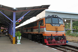 GE UM12C - Image: State Railways Thailand 4041 Kanchanaburi