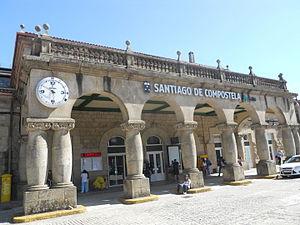 Stazione ferroviaria di Santiago di Compostela