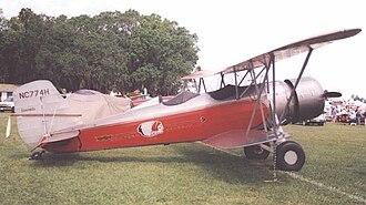 Stearman Aircraft - Stearman 4-D mailplane of 1931 in markings of Western Air Express