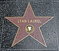 Stella Stan Laurel - Hollywood Walk of Fame - Agosto 2011.jpg