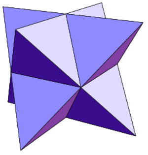 Johnson solid - This 24 equilateral triangle example is not a Johnson solid because it is not convex.