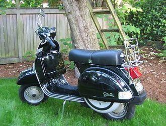 Stella (scooter) - Side