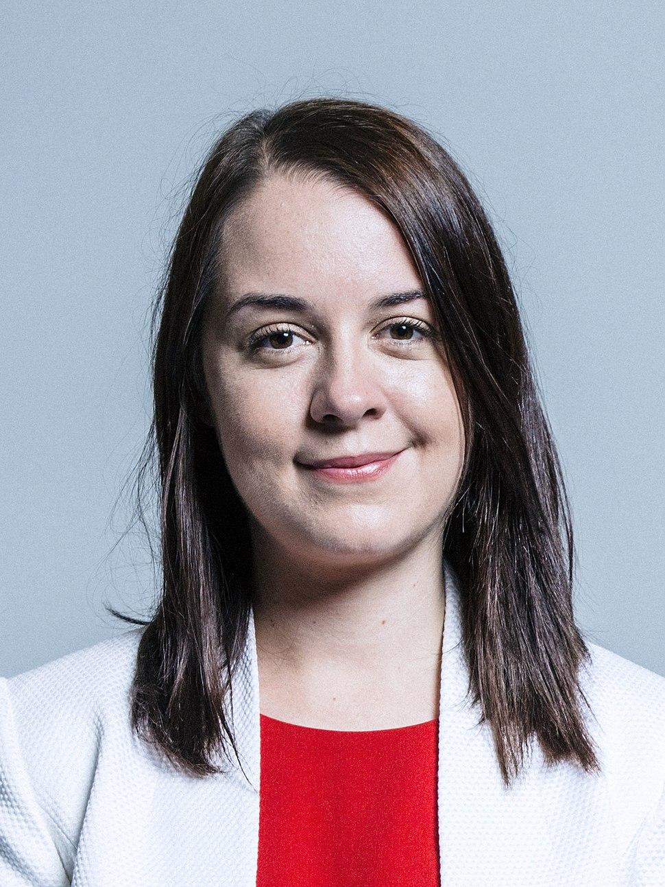 Stephanie Peacock MP - official photo 2017