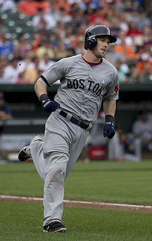 Stephen Drew - Drew with the Boston Red Sox in 2013