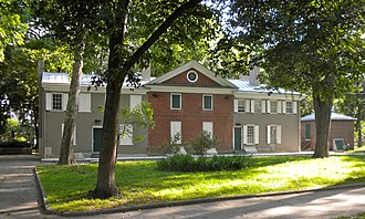 Stephen Girard Park - Gentilhommiere, Girard's home in the park