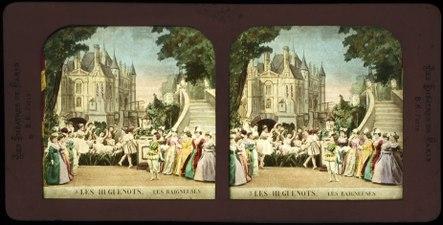 Stereokort, Les Huguenots 3, Les baigneuses - SMV - S52b.tif