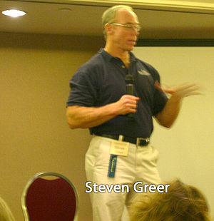 Steven M. Greer - Image: Steven Greer 01