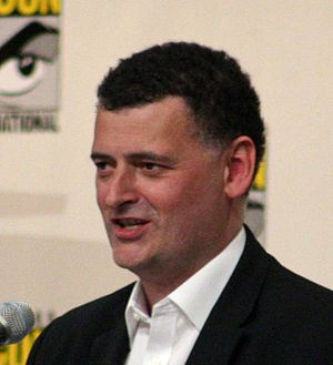 Doctor Who (series 5) - Image: Steven Moffat (cropped)