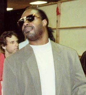 Stevie Wonder - Stevie Wonder at the 1990 Grammy Awards