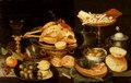 Still Life with a Meal (Peter Binoit) - Nationalmuseum - 21522.tif