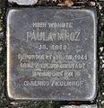 Stolperstein Chausseestr 44 (Mitte) Paula Mroz.jpg