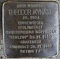 Stolperstein Göppingen, Theodor Kynast.jpg