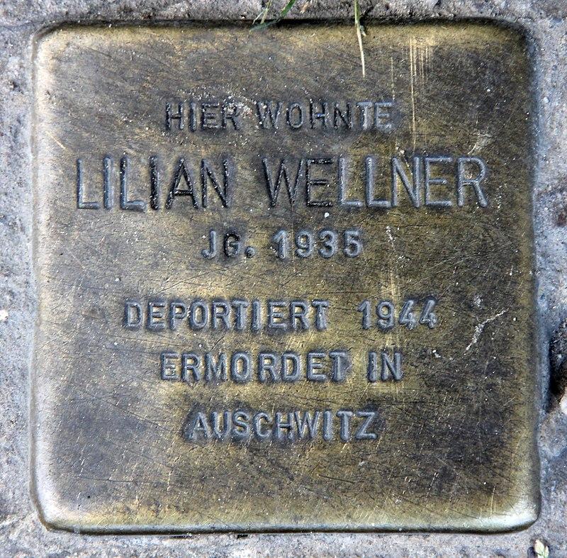 Stolperstein Greifswalder Str 43a (Prenz) Lilian Wellner.jpg