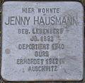 Stolperstein Karlsruhe Hausmann Jenny geb Lebenberg.jpeg