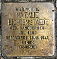 Stolperstein Mainzer Str 16a (Wilmd) Natalie Lichtenstaedt.jpg