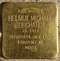 Stolperstein Pallasstr 12 (Schön) Helmut Michael Borchardt.jpg
