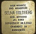 Stolperstein Schönwalder Straße 111 Spandau Selma Goldberg 2012-10-23.jpg