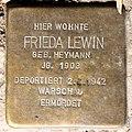 Stolperstein Stierstr 21 (Fried) Frieda Lewin.jpg