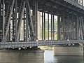 Stopping to look at the Steel Bridge, Portland, OR. (21747868958).jpg