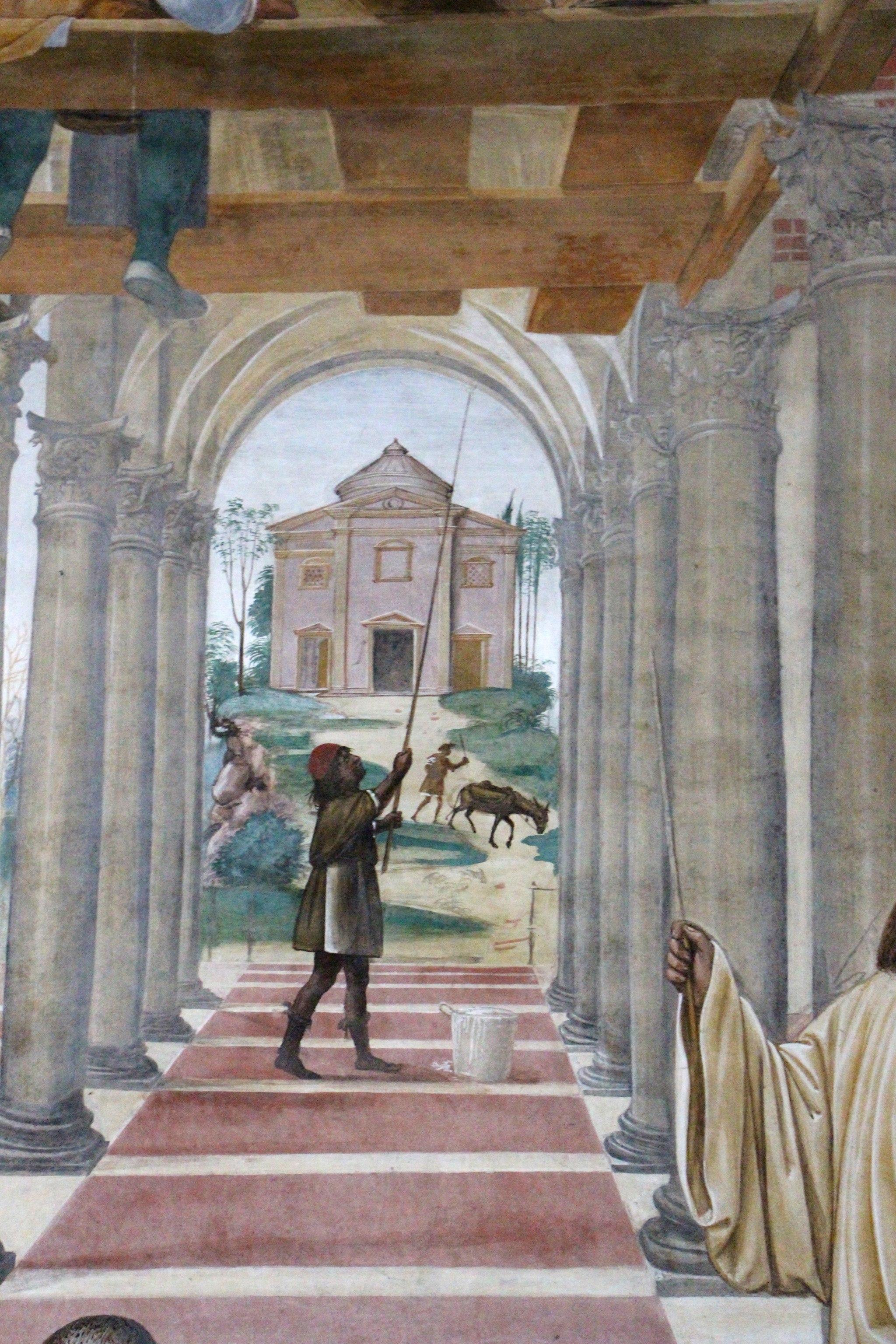 Storie di s. benedetto, 11 sodoma - Come Benedetto compie la edificazione di dodici monasteri 04
