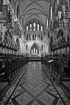 St. Patrick's Cathedral in Dublin, the National Cathedral of the Church of Ireland (part of the Anglican Communion).
