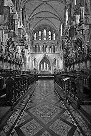 Ο Καθεδρικός του Άγιου Πατρίκιου στο Δουβλίνο. Ο Άγιος Πατρίκιος είναι ο προστάτης άγιος της Ιρλανδίας.
