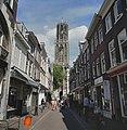 Straatbeeld met Domtoren - Utrecht - 20425837 - RCE.jpg