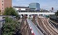 Stratford station MMB 36 1996 Stock.jpg
