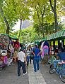 Street market in Alameda Central, Mexico City.jpg