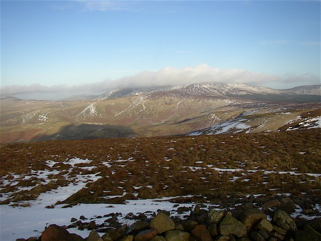 Summit of Windy Gyle - geograph.org.uk - 670034