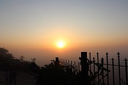 Sunrise seen from Nandi Hills