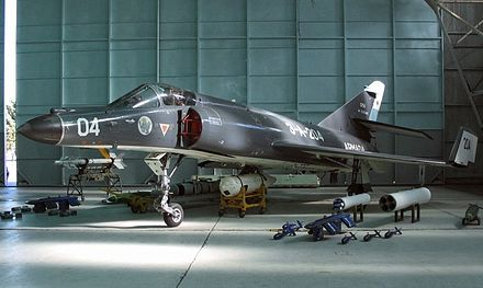 French-built Super Etendard of the Argentine Naval Aviation Super Etendard ARA 204.jpg