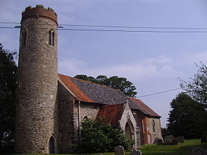 Sustead - Image: Sustead Church 31st August 2008