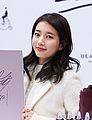 Suzy at a fan meeting for Bean Pole, 7 December 2014 01.jpg