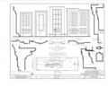 Swartout House, 414 Sheridan Road, Waukegan, Lake County, IL HABS ILL,49-WAUK,1- (sheet 4 of 4).png