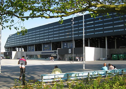 Eleda Stadion, the home of Malmo FF Swedbank stadion 29 june 2009.jpg