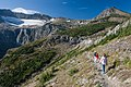 Swiftcurrent Pass Trail, Swiftcurrent Glacier (4172579588).jpg
