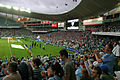 Sydney Football Stadium home end at Sydney FC vs Melbourne Victory game February 14, 2010.jpg