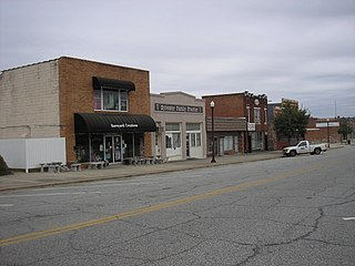 Sylvester Commercial Historic District