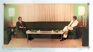Diplomacy - Ger van Elk, Symmetry of Diplomacy, 1975, Groninger Museum.