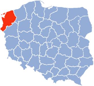 Szczecin Voivodeship - Szczecin Voivodeship