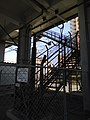 Tōkaidō Shinkansen maintenance workers stair - Ebizuka.jpg