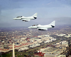 TA-4Js VC-12 over Washington DC 1980.JPEG